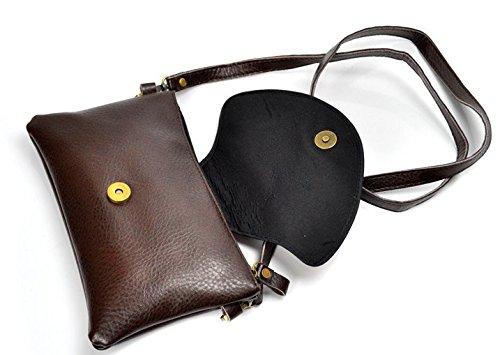 National PU Taschen Wallet–memorecool Haustierhaus Stickerei Muster Handtaschen magnetisch Schnalle Design Schwarz Hintergrund schwarz 2 schwarz 1
