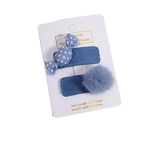 ll Hairpin-Kind-Kind-Süßigkeit-Form-Haar-Klipp-Clamp Set Kleinkind Teens Kopfbedeckung ()