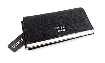 Guess - Portefeuille porte-monnaie femme - cuir synthétique noir - KK627453