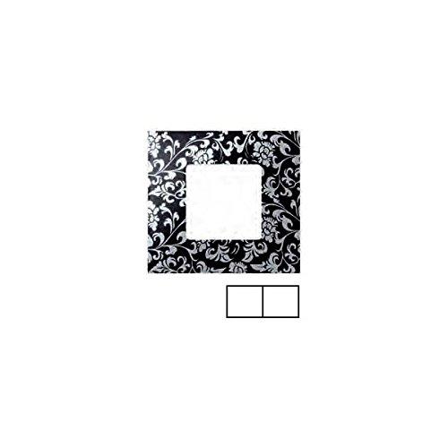 Simon 2700627-804 - Funda 2 Elementos Vintage Negro-Plata