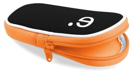 be. ez LA robe Tasche für Playstation PSP schwarz / orange (Robe Tasche)