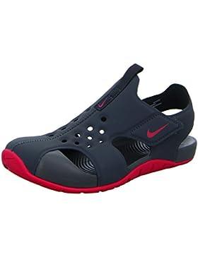Nike Sandalias y Chanclas Para Niña, Color Gris, Marca, Modelo Sandalias Y Chanclas Para Niña Sunray Protect 2...