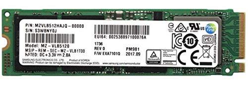 Samsung PM981 MZVLB512HAJQ - 512 GB SSD - intern - M.2 2280 - PCI Express 3.0 x4 (NVMe)
