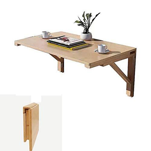 Massivholz-Klapptisch Wandtisch Esstisch Computer Tisch Studie Schreibtisch Wand Montierten Klapptisch, Größe Optional (größe : 60x40cm) -