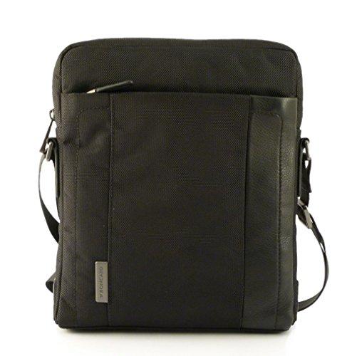 Roncato Borsello Uomo Large Borsa a tracolla 25 cm scomparto tablet flag nero