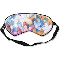 Sleep Eye Mask Flowers Colorful Lightweight Soft Blindfold Adjustable Head Strap Eyeshade Travel Eyepatch preisvergleich bei billige-tabletten.eu