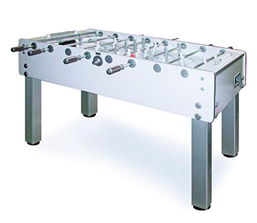 Garlando Unisex's G-500 Pure White Football Table, One Size