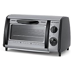 ORBEGOZO HO 810 A – Mini horno de sobremesa multifunción, capacidad de 8 litros, potencia 800 W, color gris