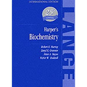 Harper's Biochemistry (A Lange medical book)
