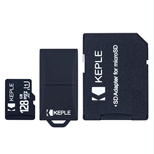 128GB MicroSD Speicherkarte Klasse 10 Kompatibel mit Panasonic Lumix DMC-FZ1000, DMC-FZ72, DMC-FZ330, DMC-FZ200, DMC-FH6, DMC-FH8, DMC-TZ70, DMC-TZ57, DMC-TZ40 Kamera | Micro SD 128 GB