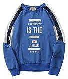 Pizoff Unisex Hip-Hop Coole Sweatshirts - Langarm Training Oversized Übergroß Straße Stil Kontrast Einsatz