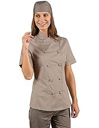 Amazon.it  Beige - Giacche da chef   Ristorazione  Abbigliamento 74f334844173
