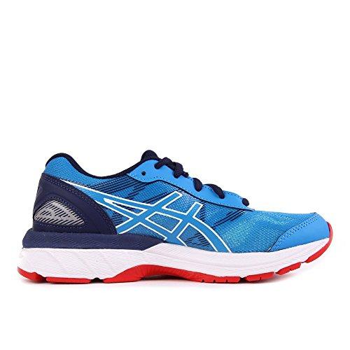 Asics Gel-Nimbus 19 GS, Chaussures de Gymnastique Mixte enfant Bleu