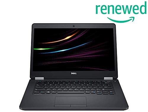 DELL Latitude E5470 Business Notebook | Intel i5 6.Gen 2 x 2.4 GHz Prozessor | 8 GB Arbetsspeicher | 256 GB SSD | 14.1 Zoll, 1366x768 | Webcam | Windows 10 | 1366 (Generalüberholt)