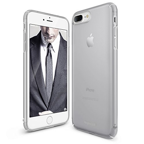 Cover per iPhone 7 Plus in plastica dura Ultra-Sottile (Frost Gray)