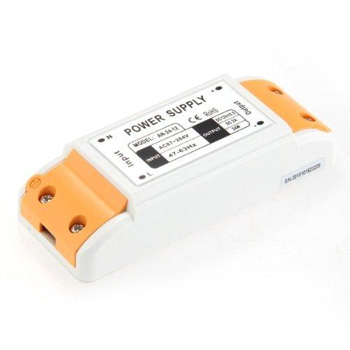 SODIAL (R) 24W striscia LED.Light Driver Alimentatore Trasformatore DC 12V 2A