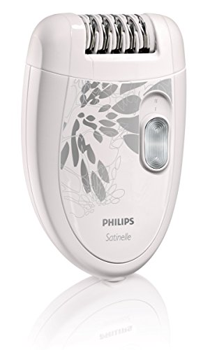 Philips Satinelle Essential HP6401/50 - Depiladora Crema de color, 21 discos, 7,5 W, Epilator