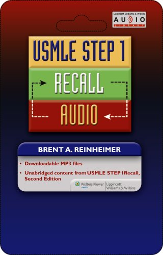 USMLE Step 1 Recall Audio: Buzzwords for the Boards (Recall Series)