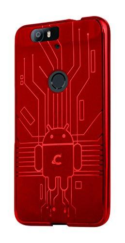 Nexus 6P Case, Cruzerlite Bugdroid Circuit Case Compatible for Huawei Nexus 6P...