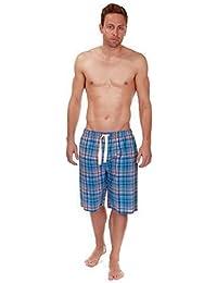 Hombre Cargo Bay 100% Algodón Ligero Verano Pantalones De Estar Por Casa / Pantalón De Pijama