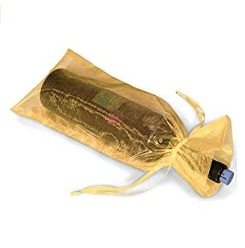 ein Flasche Taschen Hoch Kerzen Graduierung Tag Wrap Gold ()