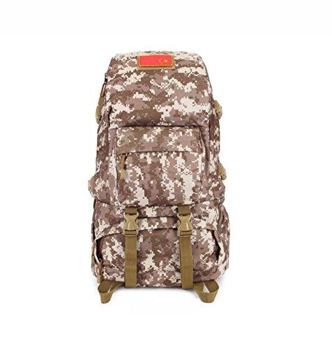Outdoor Wandern Tarnung Rucksack Herren- Klettern Tasche Multifunktional Daypack Camouflage