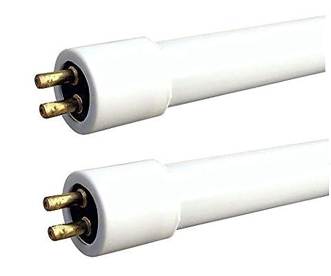 2 x 16W T4 fluorescent tube 6500K Cool White (480mm inc, 466mm exc pins) Tube for Under Shelf