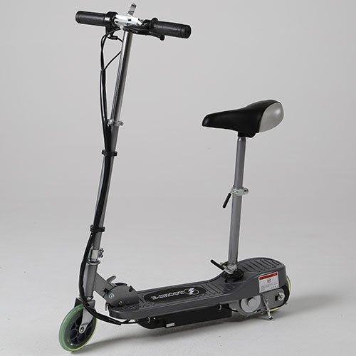 kids electric scooter e scooter e scooter silver 120w motor 24v rechargeable battery powered at. Black Bedroom Furniture Sets. Home Design Ideas
