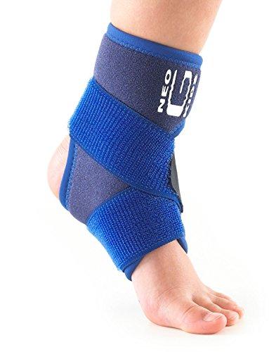 Neo G Tobillera infantil - Calidad de Grado Médico. Ayuda con síntomas de artritis infantil, tobillos lesionados, débiles, esguinces, distensiones, lesiones deportivas. Tamaño Universal - Unisex