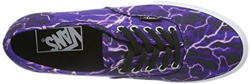 Vans U Authentic Lo Pro, Baskets mode mixte adulte Bleu (Digi Lightning / DHR)