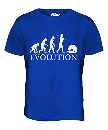 CandyMix Acro Evolution Des Menschen Herren T Shirt Königsblau