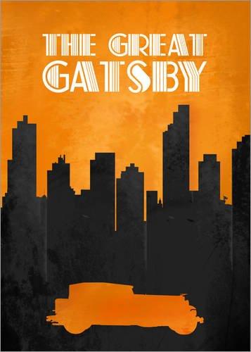 Posterlounge Acrylglasbild 30 x 40 cm: The Great Gatsby - Minimal Movie Film Fanart Alternative von HDMI2K - Wandbild, Acryl Glasbild, Druck auf Acryl Glas Bild