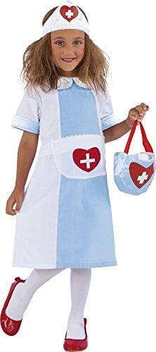 Imagen de rubie's  nursy, disfraz de enfermera para niños s8315 s