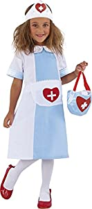 Rubies - Nursy, disfraz de enfermera para niños (S8315-L)