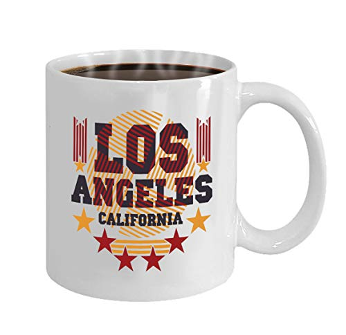 Funny Gifts for Halloween Party Gift Coffee Mug Tea los angeles california graphic sport emblem design (Halloween Party Angeles Los)
