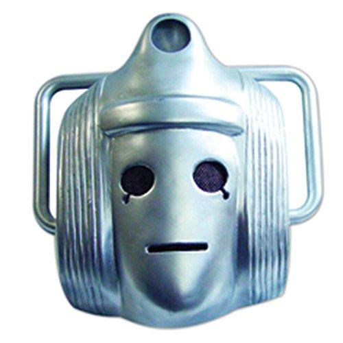 Star Cutouts Bedruckte Gesichtsmaske DER Classic Cyberman Maske