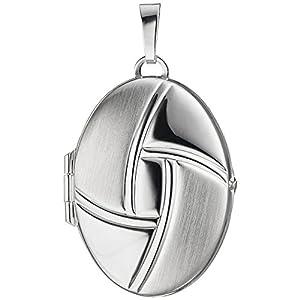 JOBO Medaillon 925 Sterling Silber teilmattiert