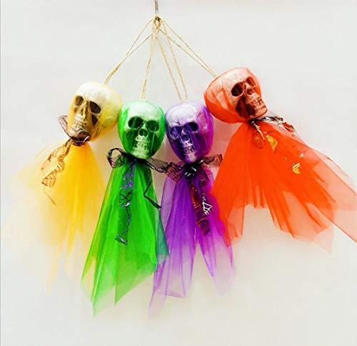 Halloween Schädel Charme Pendant, Bar Haunted Haus Dekorative -
