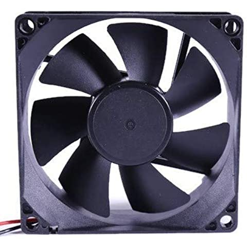 Electronic Spices Electronicspices DC 12V HIGH END Cooling Fan Black for PC Case CPU Cooler r