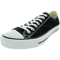 Converse Chuck Taylor All Star Seasonal Ox, Unisex-Erwachsene Sneakers, Schwarz (Black), 40 EU