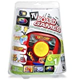 6-in-1 Plug N Play Games Battleship Simon Mousetrap Checkers Link a Like and Roll Over