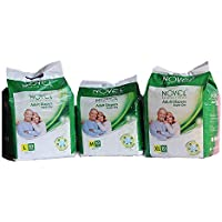 NOVEL UNISEX ADULT DIAPERS Adult diapers Premium High Absorbance Anti-Bacterial Supirior Quality Tape Diapers Unisex…
