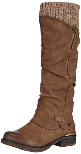 Rieker 98956-25, Women's Ankle Boots, Brown (Tan), 6 UK (39 EU)