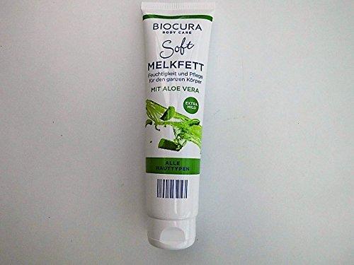 BIOCURA Body Care Soft Melkfett. Feuchtigkeit und Pflege für den ganzen Körper mit ALOE VERA für...