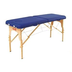 Sissel Portable Therapiemöbel Koffermassagebank Basic, blau