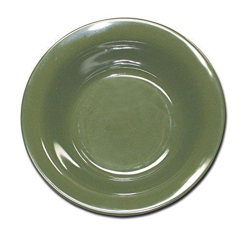 Suppenschale Melamin oliv