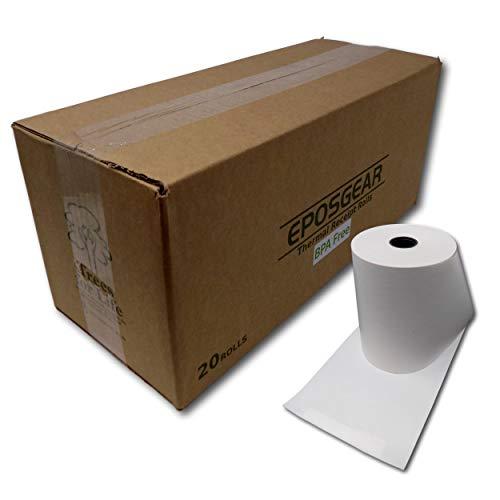 Eposgear® 20Rolls 80mm x 60mm 80x 60hasta