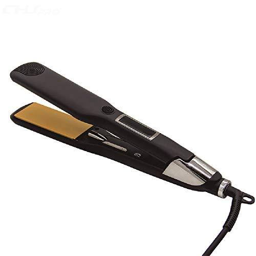 XIAONUA Pequeño alisador de Pelo: se calienta rápidamente Planchas del Pelo, planchas de peluquería versátiles, tecnología para salón Profesional,Black