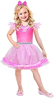 Amscan Barbie Pink Diamond, 110x 9902383Child Costume–128cm