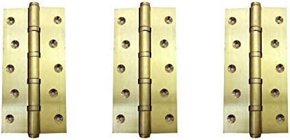 DOLPHIN BRASS BALL BEARING HINGE 5 INCH- SET OF 3
